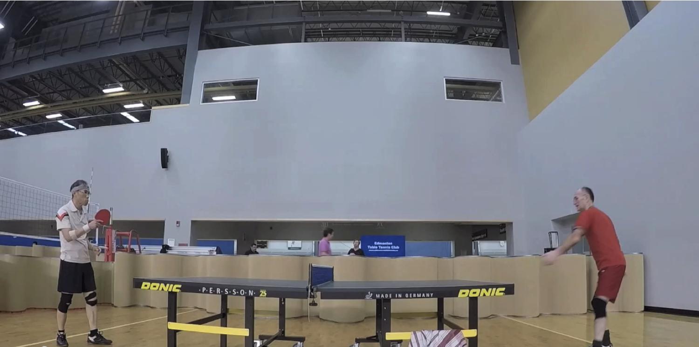 GoPro Super Slo-Mo of the Week | Edmonton Table Tennis Club