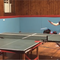 Table Tennis:  The Best Crazy Multi-Ball Sessions