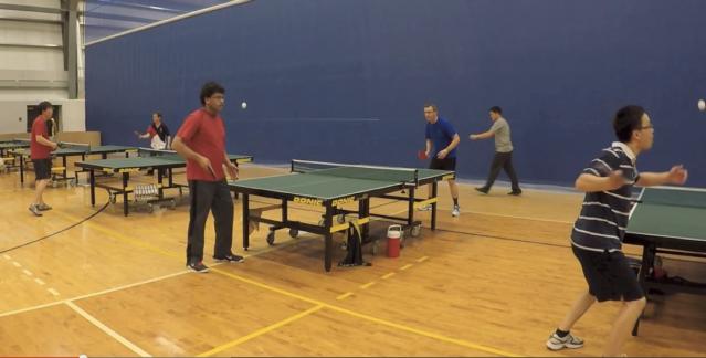 Gopro Super Slo Mo Of The Week Edmonton Table Tennis Club