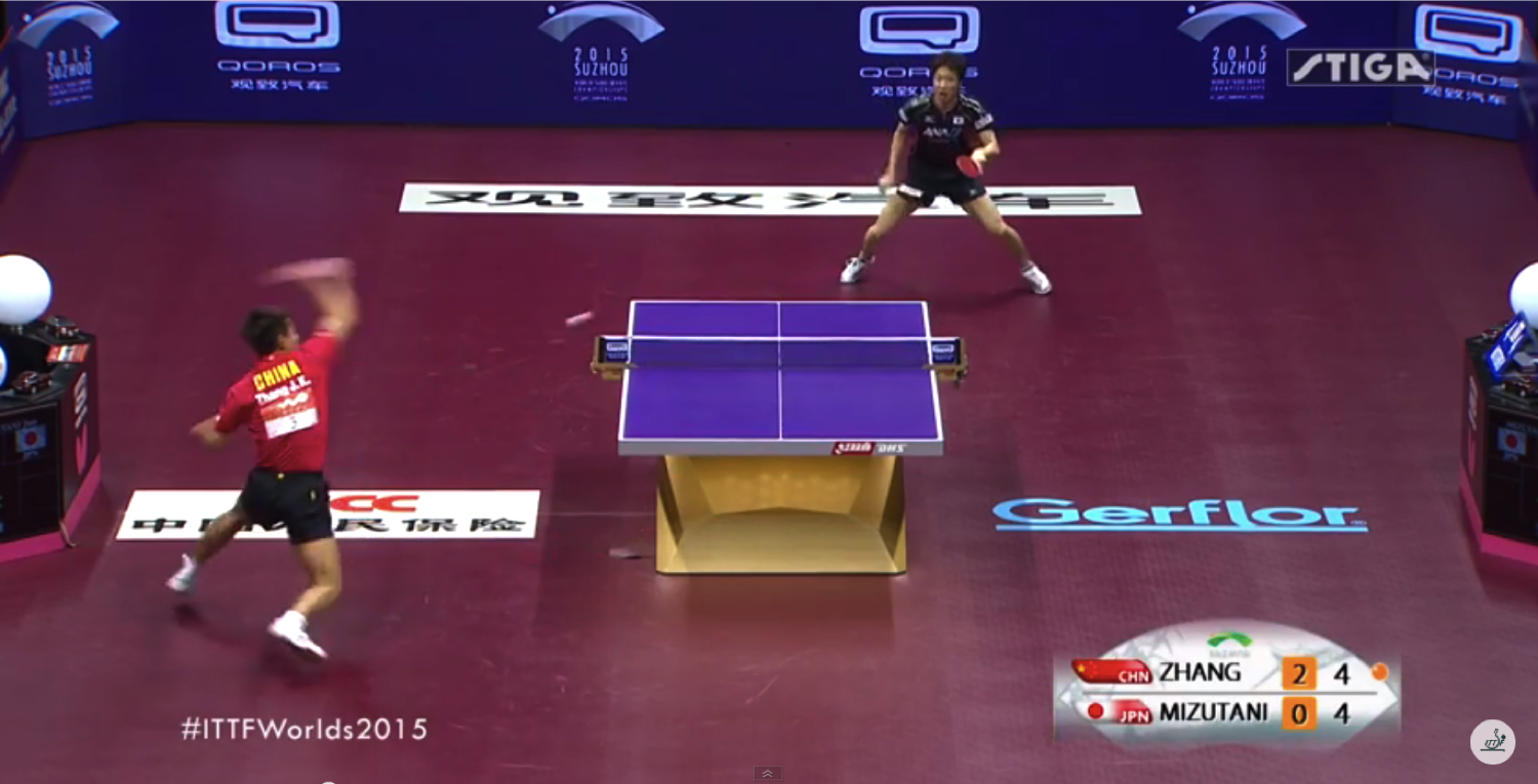 2015 world table tennis championships shots of the day edmonton table tennis club - World table tennis championships ...